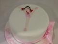 gymnast cake 1
