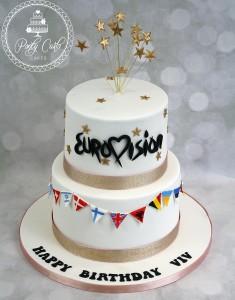 Eurovision Birthday Cake.