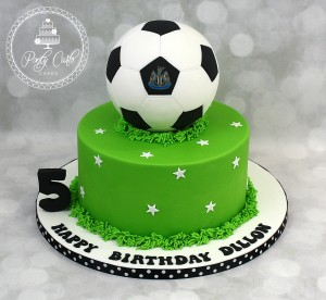 Football Birthday Cake.