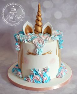 Unicorn Birthday Cake.