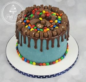 Chocolate Overload Chocolate Drip Cake.