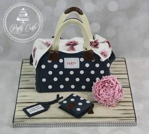 Cath Kidston Handbag Birthday Cake.