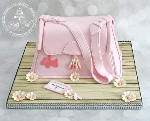 Pink Radley Handbag Birthday Cake.